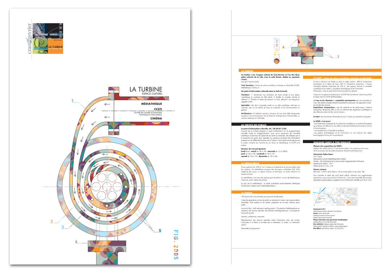 corporate graphic design for food industry
